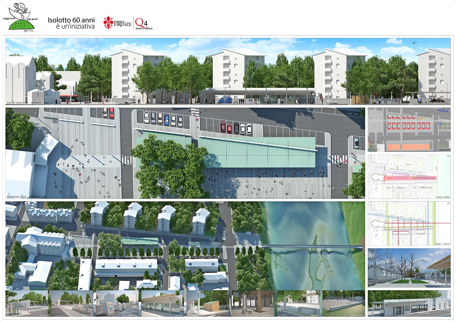 Studio architettura firenze concorso piazza isolotto 5 - Tavola valdese progetti approvati 2015 ...