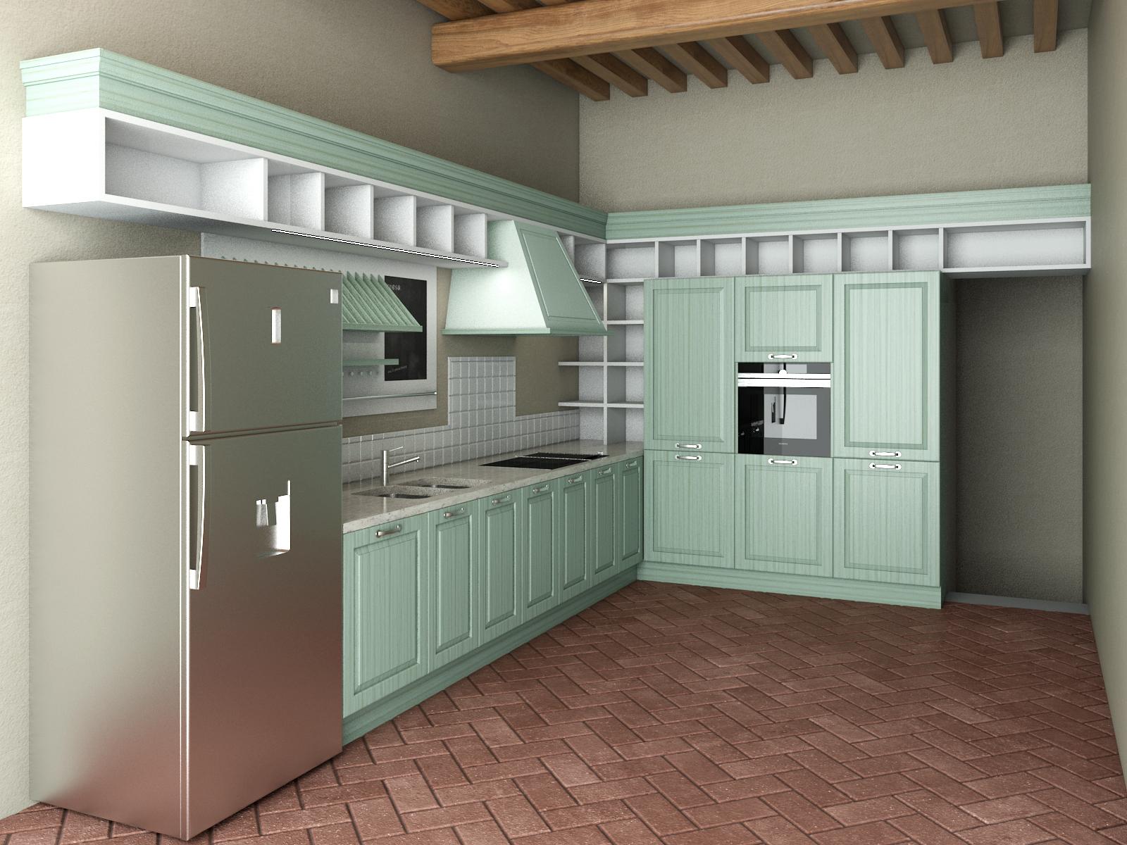 Studio architettura firenze cucine per casa colonica for Costo per costruire casa colonica
